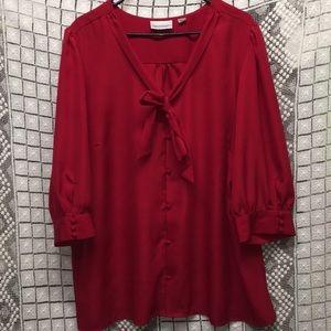 Avenue button down blouse